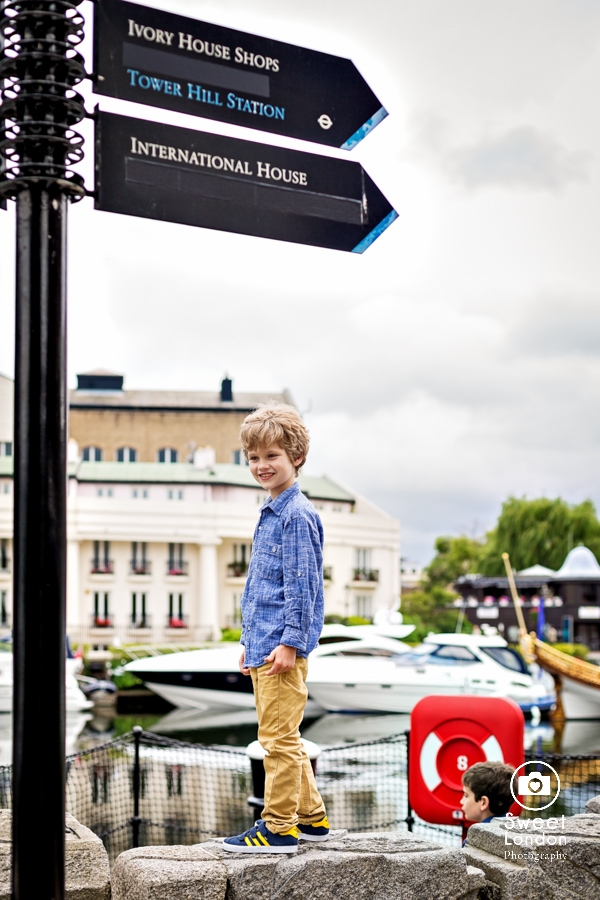 Portrait Photographer London - Children Photography Big Ben and Tower Bridge