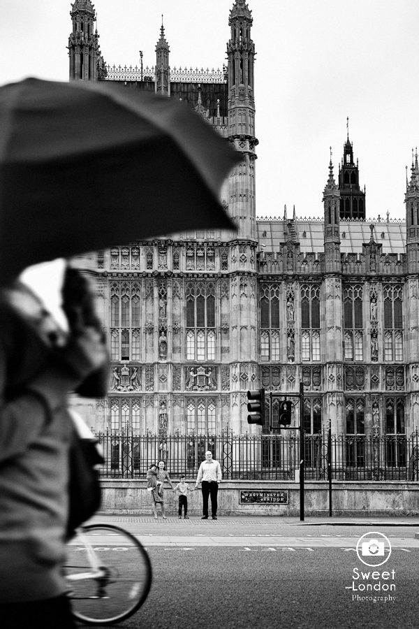 Children's Portrait Photography London - Big Ben, Westminster, London