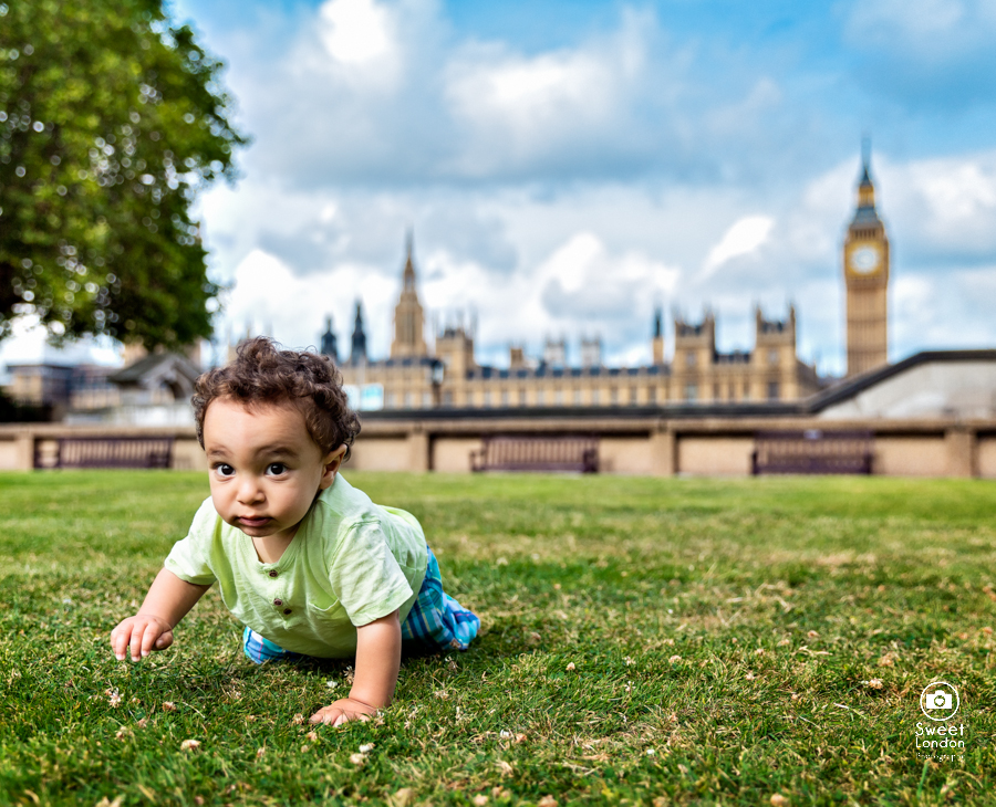 Children Portrait Photographer London landmarks - baby photographer-05