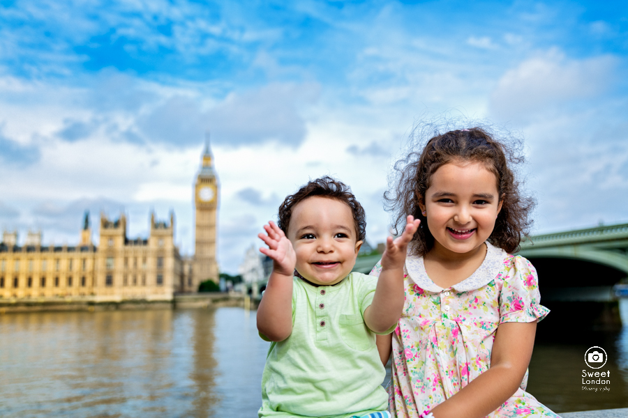 Children Portrait Photographer London landmarks - baby photographer-5