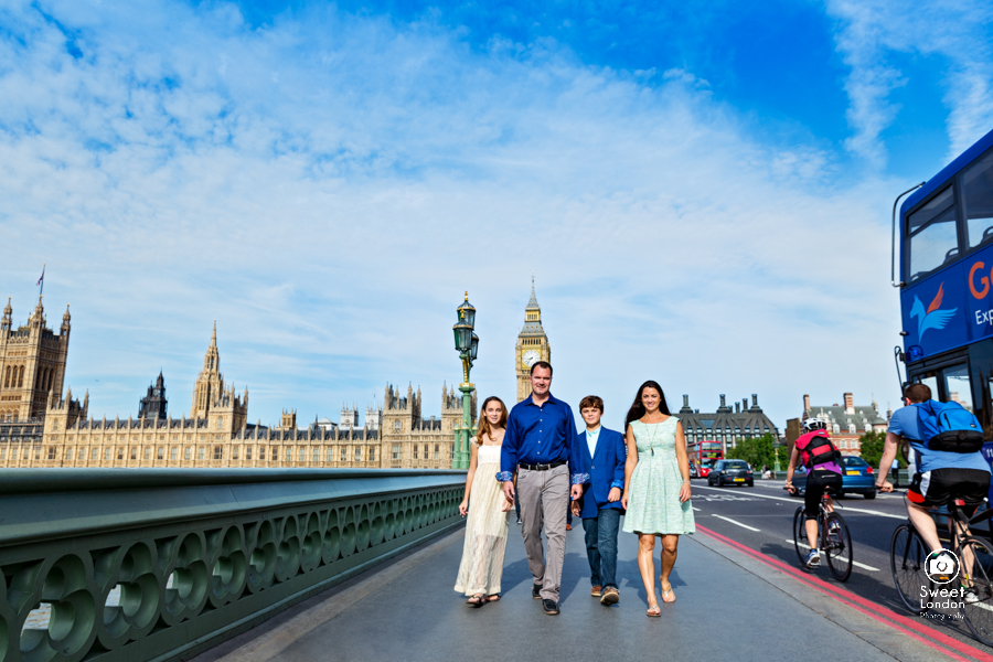 London Portrait Photography with teenagers - Westminster and Tower Bridge-3