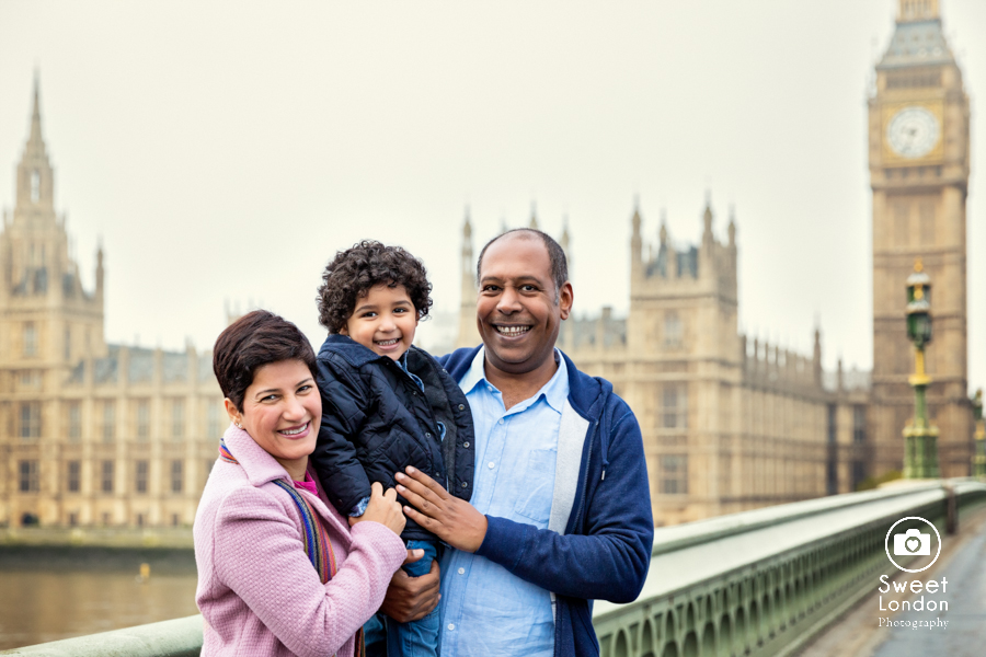 Family Photography with London sights - Big Ben, Westminster (9)