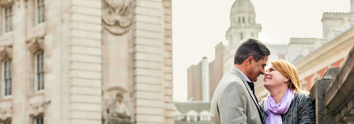 Libby and Michael - Anniversary Couple Photo Shoot in Central London