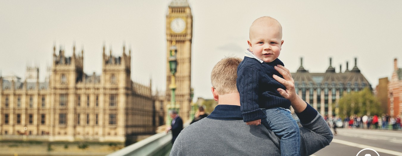 London Family Photography Shoot - Brooks visiting Tower Bridge and Westminster