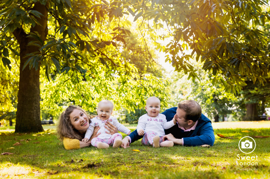 23_Baby and Family Photography with Twins in Greenwich Park, London (41)