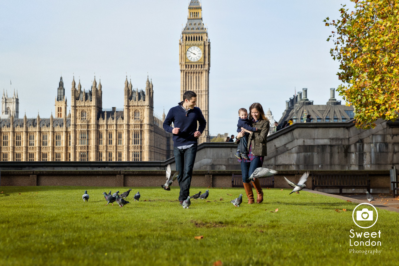 Children and Family Photography with Big Ben and London Eye (1)