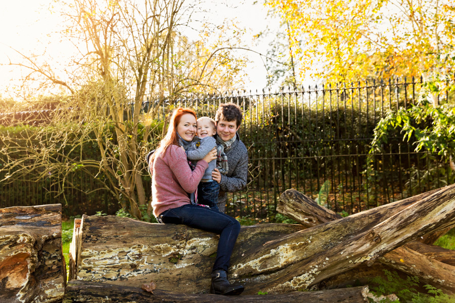 Birthday Family Photo Shoot in Regent's Park, NW London (14)