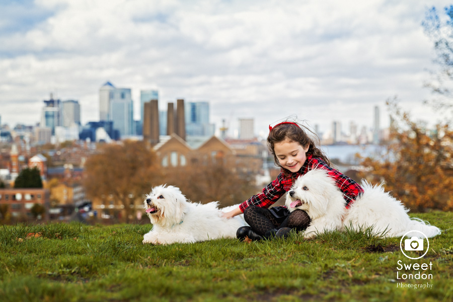 Children Photo Shoot in Greenwich Park - Christmas Cards (1)