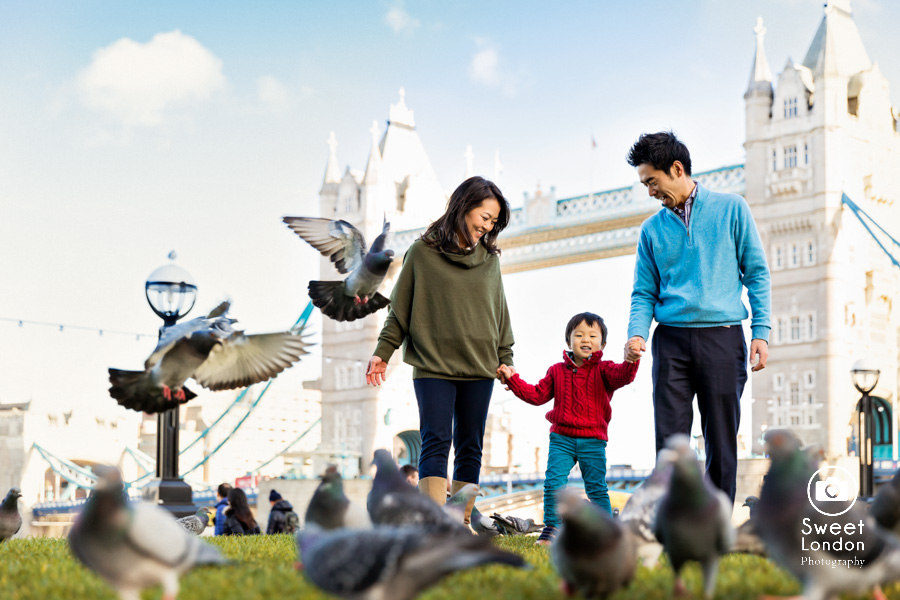 Children and Family Photographer in Central London - Tower Bridge and Big Ben Family Session (1)