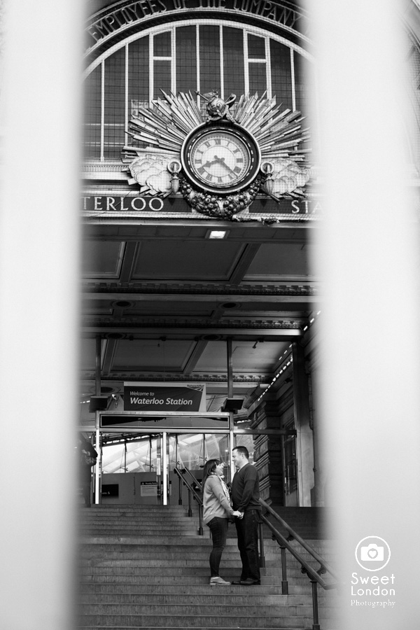 London Engagement Photo Shoot - Waterloo (17)