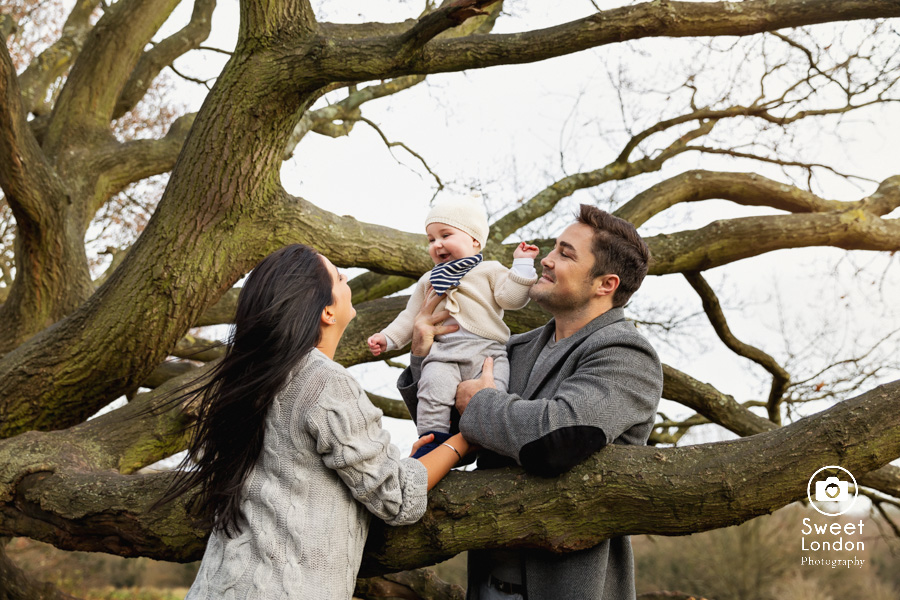 Baby and Family Photography in Hampstead Heath, London