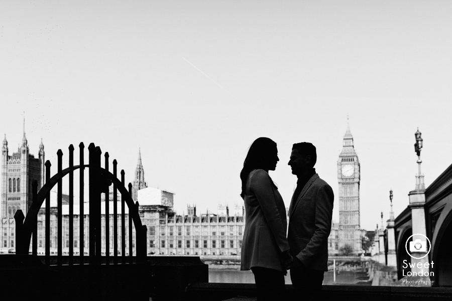 London Couple Photography - Big Ben London Eye and Trafalgar Square (18)