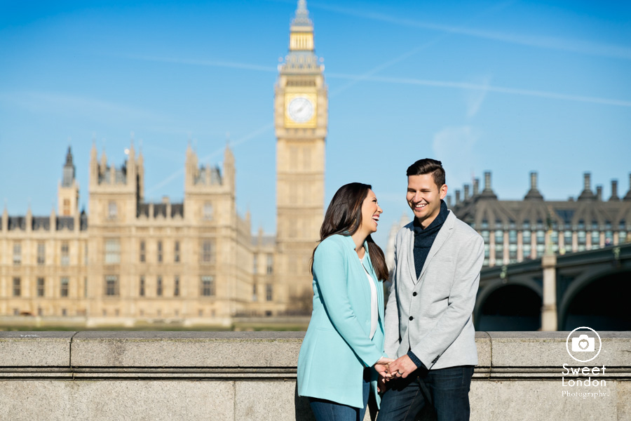 London Couple Photography - Big Ben London Eye and Trafalgar Square (21)