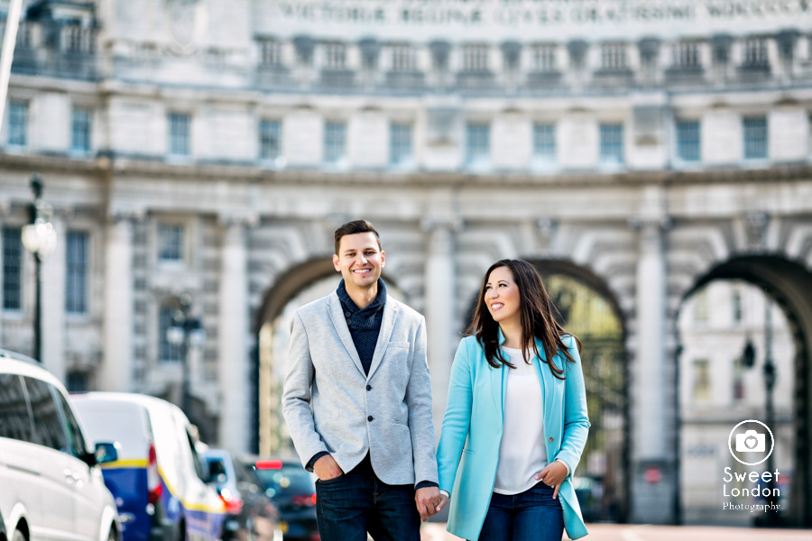 London Couple Photography - Big Ben London Eye and Trafalgar Square (36)
