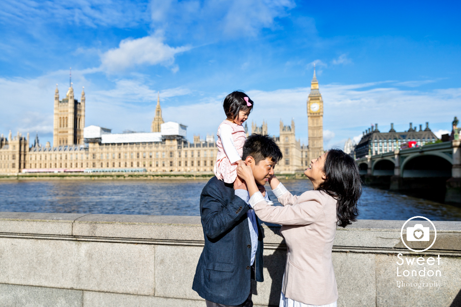 Natural Light Family Photographer - Westminster and Tower Bridge (1)