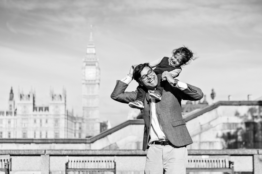 Southbank London Family Portrait Photographer - Big Ben and Tower Bridge (13)