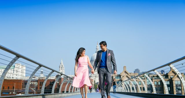 Professional London Photo Session at St-Paul's Cathedral