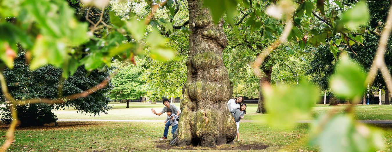 London Children and Family Photography in St-James's Park