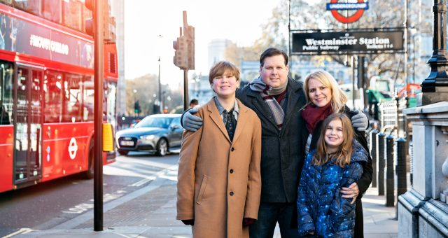 Family Travel Photography in London