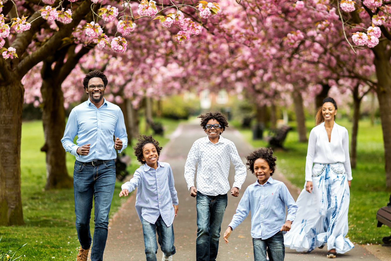 Sweet London Photography 187 Cherry Blossom Spring Family