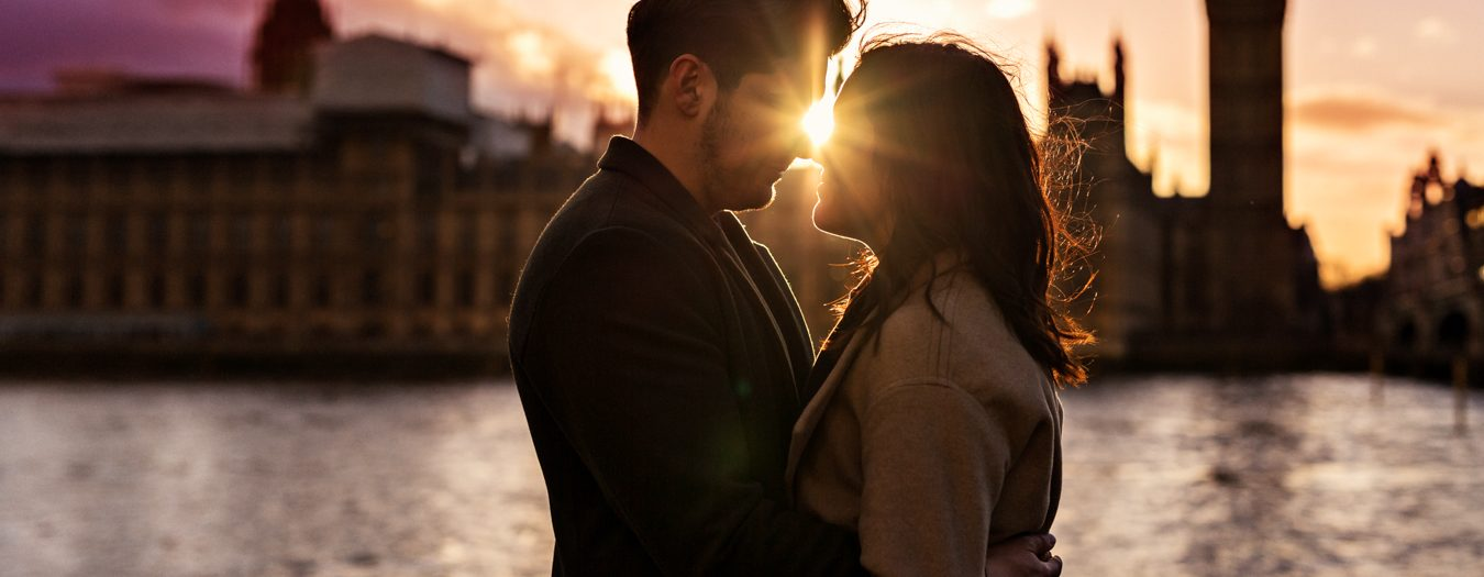 London Engagement Photography in Hyde Park and Westminster
