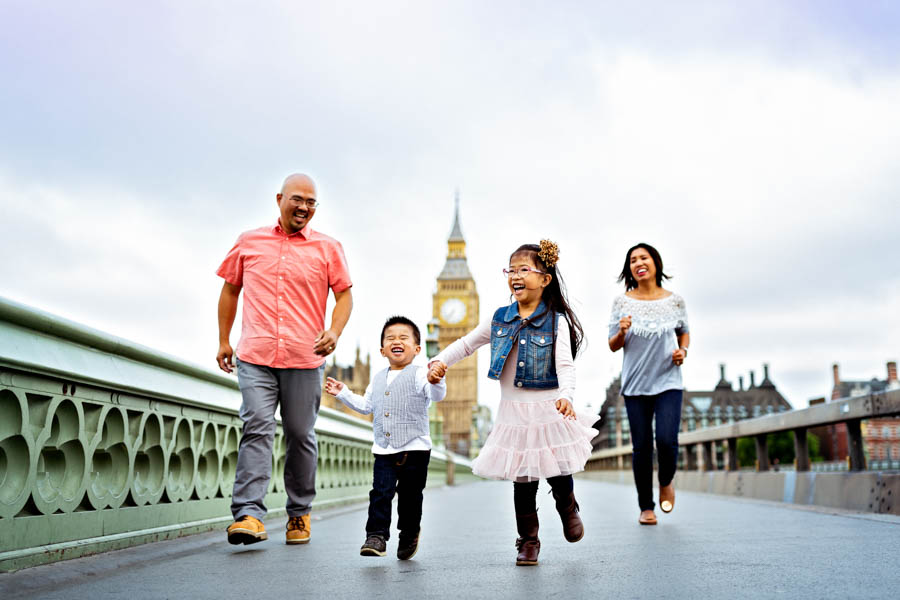 Holiday Family Photography in Central London