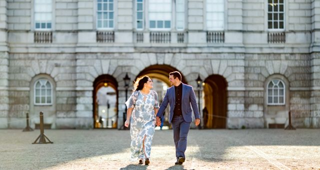 Romantic anniversary couple photoshoot in London