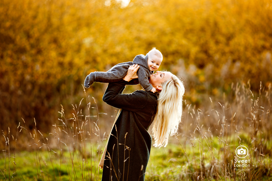 Hampstead Heath Baby Photographer in North London