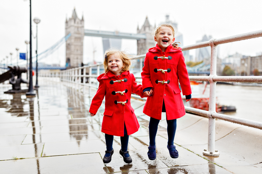 London Vacation - Family Photographer at Tower Bridge